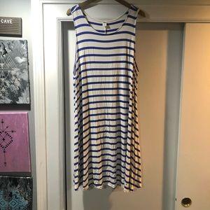 Flowy striped dress super soft